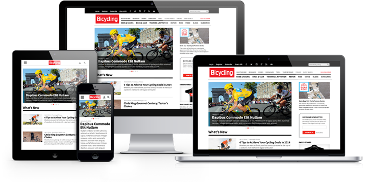Bicycling.com Responsive Redesign